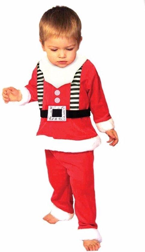 3-delig Kerstmannen kleding voor peuters - Kerstmanpak 1-2 jaar (86/92)