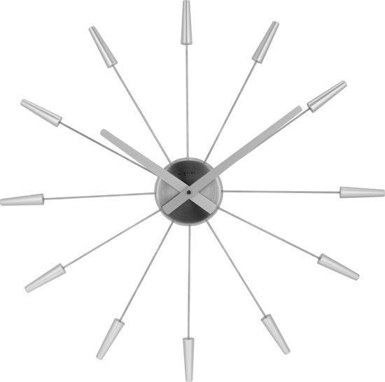 NeXtime Plug Inn Wandklok à 58 cm