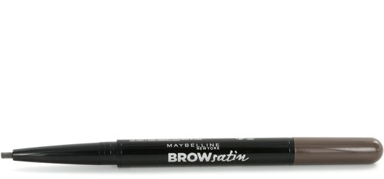 Maybelline Brow Satin Duo - 04 Dark Brown - Donkerbruin - Wenkbrauwpotlood en poeder