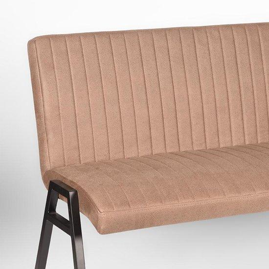 LABEL51 - Eettafelbank Matz 145 cm - Microvezel - Stone