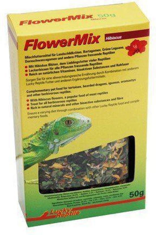 Lucky Reptile Flower Mix Hibiscus - 50 gr - Reptielenvoer