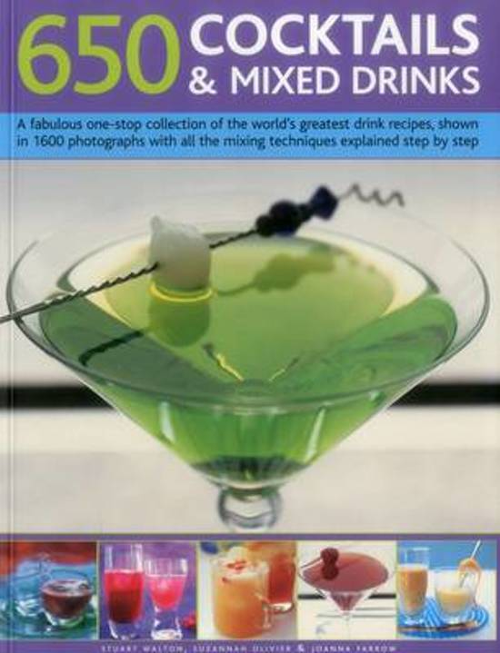 Boek cover 650 Cocktails & Mixed Drinks van Stuart Walton (Paperback)
