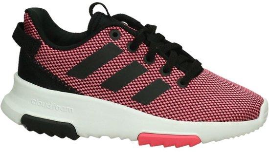 best authentic crazy price sale adidas - Cloudfoam Racer Tr K - Runners - Meisjes - Maat 29 - Roze - Super  Pink/Core Black/Ftwr White