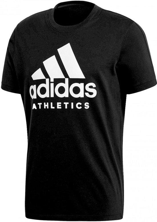 ddad91fb406 adidas Sport ID Branded T-shirt Heren Sportshirt casual - Maat S - Mannen -