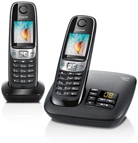 Gigaset C620A - Duo DECT Telefoon - Zwart