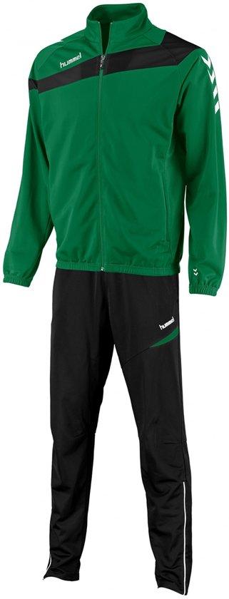 Hummel Elite Polyester Pak - Trainingspakken  - groen - 128