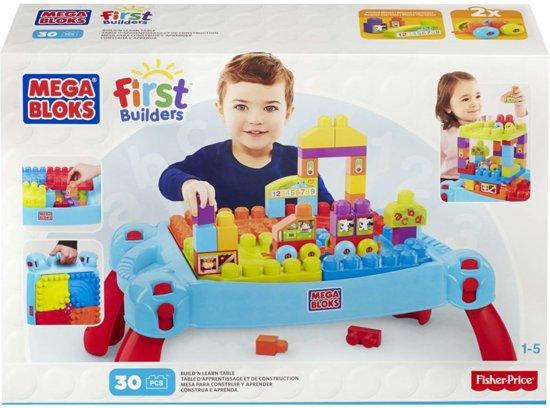 Mega Bloks Tafel : Bol mega bloks first builders speel en leertafel