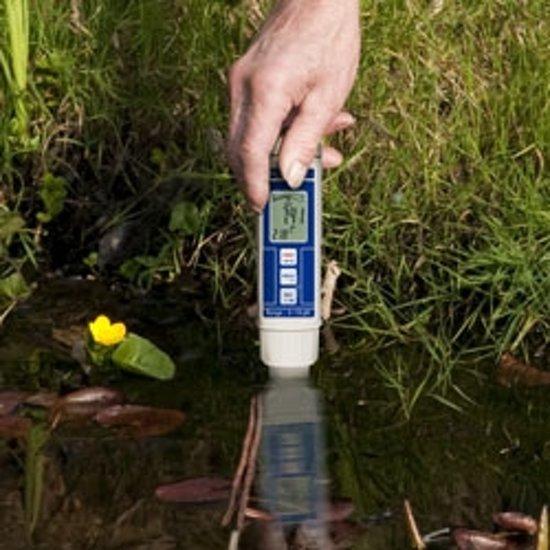 Waterbestendige pH-meter PCE PH 22