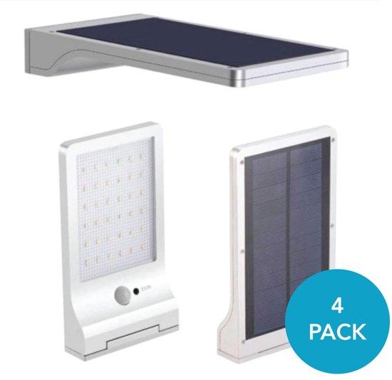 bol.com | Ultra dunne draadloze LED solar buiten verlichting - met ...