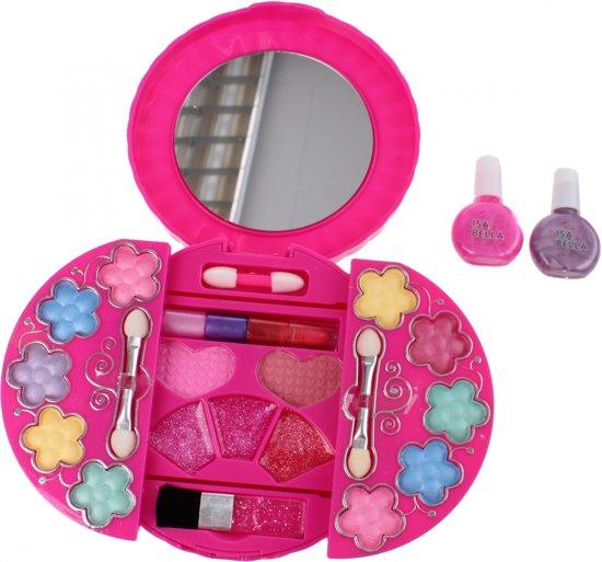 da771044a7adb9 Isabella make-up set in ronde doos met spiegel
