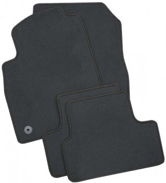 PK Automotive Complete Velours Automatten Chevrolet Matiz 2005-2010