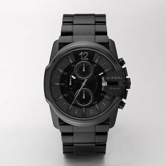 Diesel DZ4180 - Horloge - 44 mm - Zwart