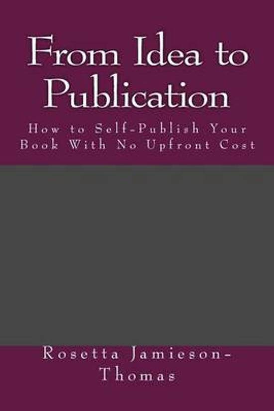 From Idea to Publication