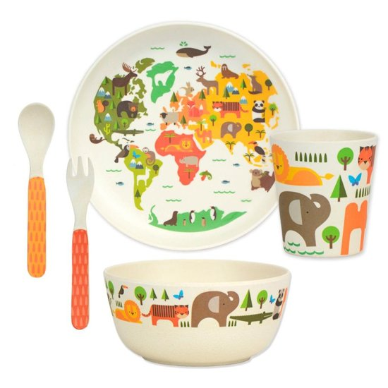 Our World Bamboo Dinnerware Set Petit Collage