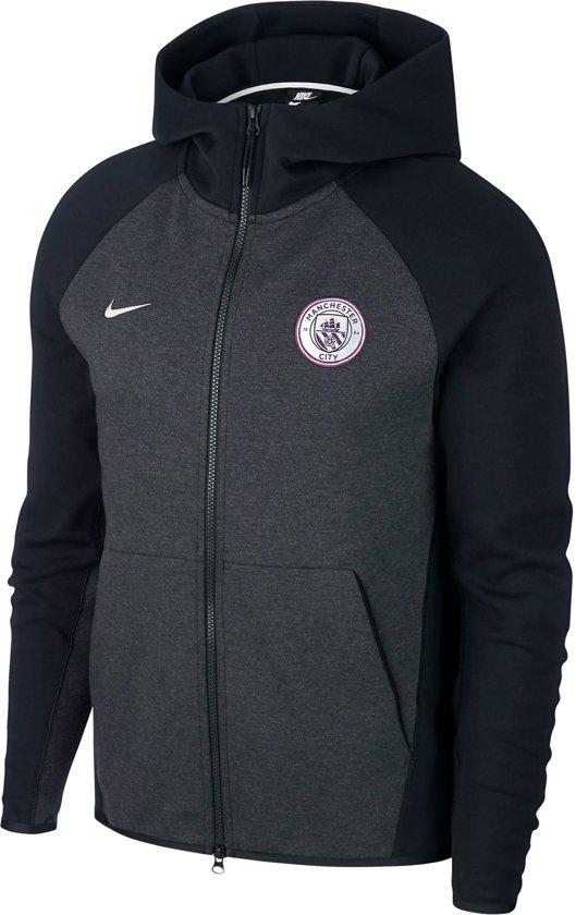 71be9eee8b8 Nike Sportwear Manchester City FC Heren Sporttrui - Maat S - Mannen - zwart /grijs
