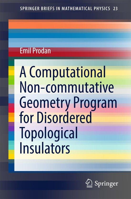A Computational Non-commutative Geometry Program for Disordered Topological Insulators