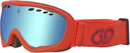 Bluetribe X-Ray Red Skibril / Snowboard bril - Goggle