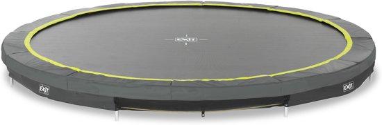 EXIT Silhouette inground trampoline ø427cm - zwart