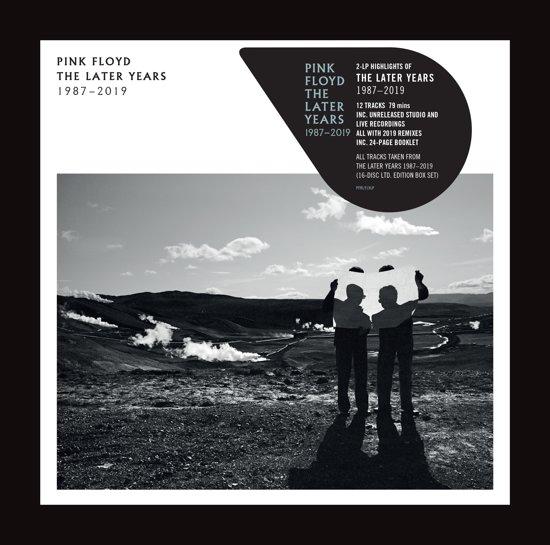 CD cover van The Best Of The Later Years 1987 - 2019 (2LP) van Pink Floyd