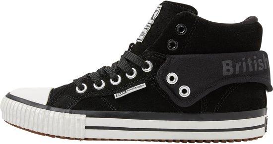 Heren Knights HoogBlack47Suede British Sneakers Roco cjSR54A3qL
