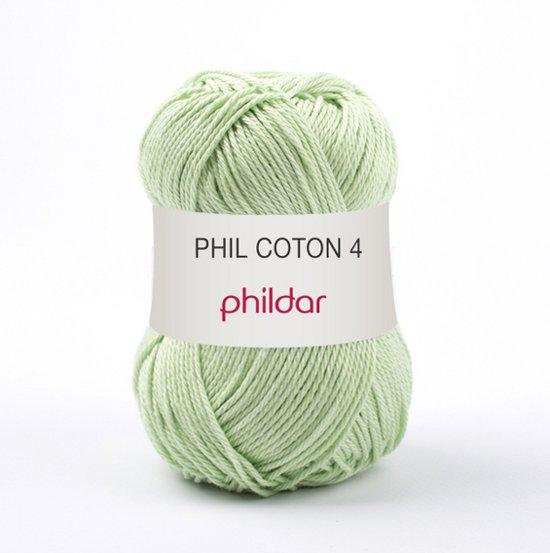 Phildar Phil Coton 4 Anisade 10 x 50 gram