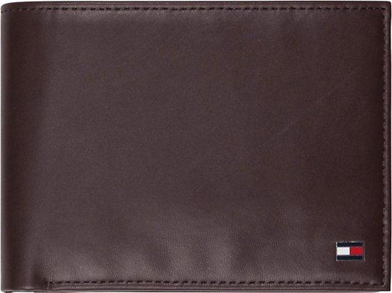 a6120644914 Tommy Hilfiger - Eton - CC and coin pocket heren portemonnee - Brown