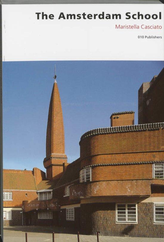Cover van het boek 'Amsterdam school'