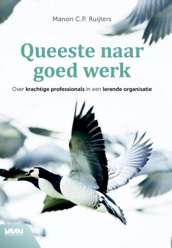 Boek cover Queeste naar goed werk van Manon C.P. Ruijters (Hardcover)