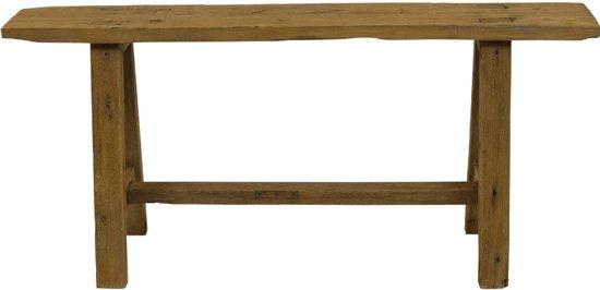 Kloosterbankje - gangbankje van hout - houten bankje - 100 cm