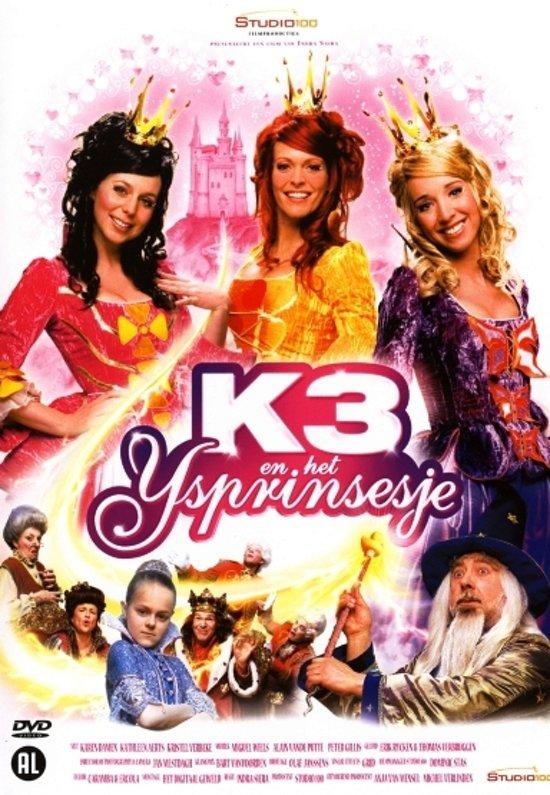 CD cover van K3 en het IJsprinsesje van Kathleen Aerts