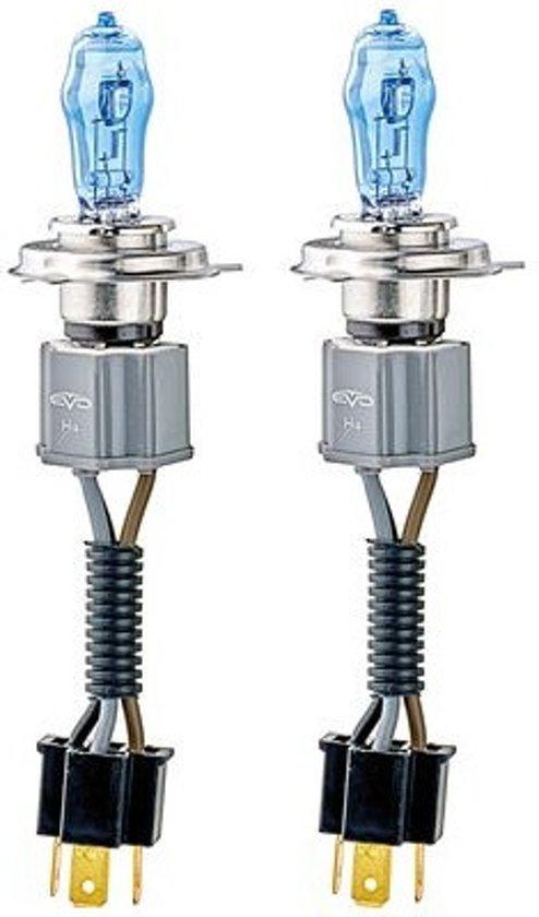 Evo Formance Autolampen Alfas 4300k H4 75/85 Watt 12 Volt 2 Stuks