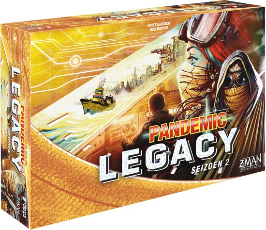 Pandemic Legacy Seizoen 2 Yellow - Bordspel
