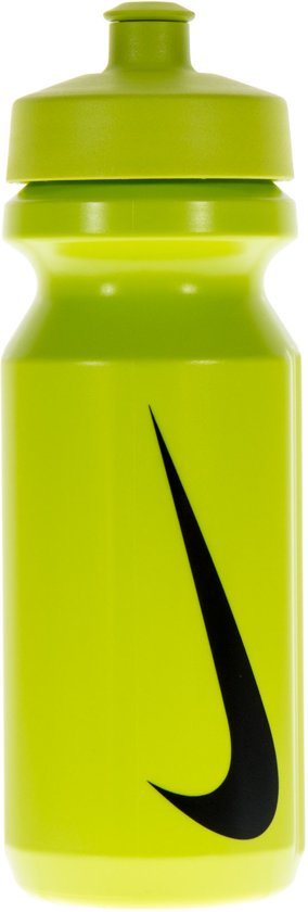 Nike Big Mouth Water Bottle 22Oz - Bidon - Unisex - One size - Groen;Zwart