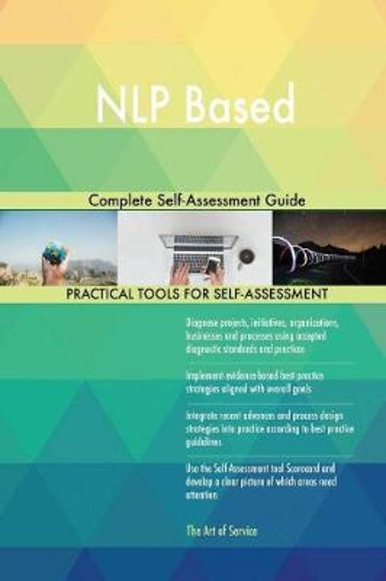 Nlp Based Complete Self-Assessment Guide