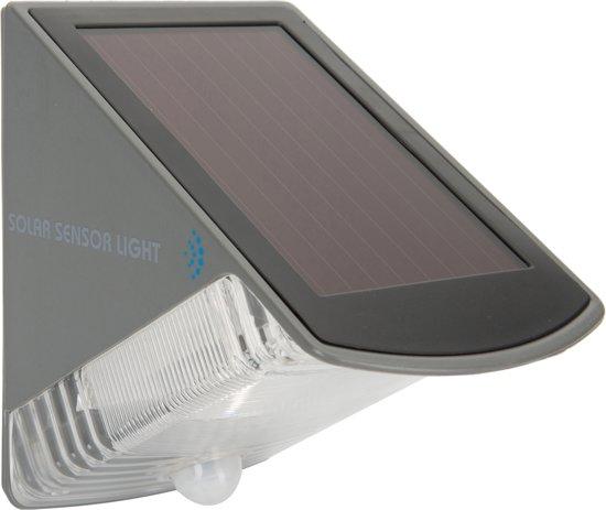 Ranex Olav 5000.261 solar wandlamp - met bewegingsmelder - zwart