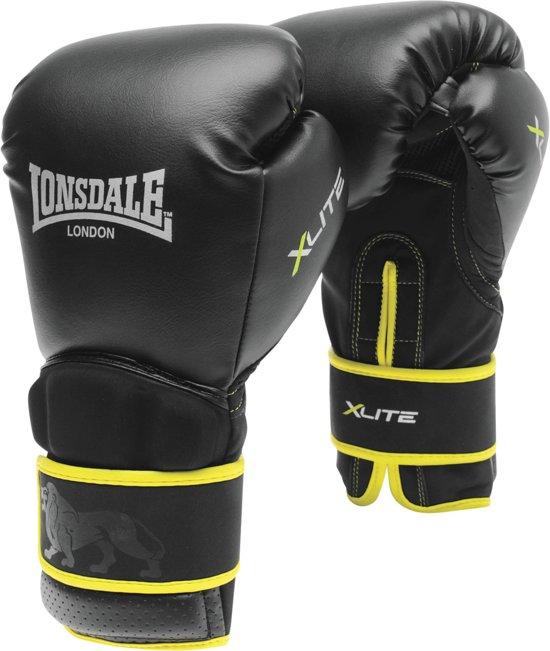 Lonsdale Xlite Training Boxing Gloves 14 OZ Black//Green