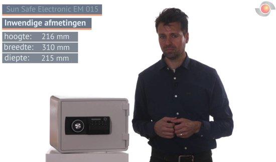 De Raat Sun Safe Electronic EM 015 Brandkast