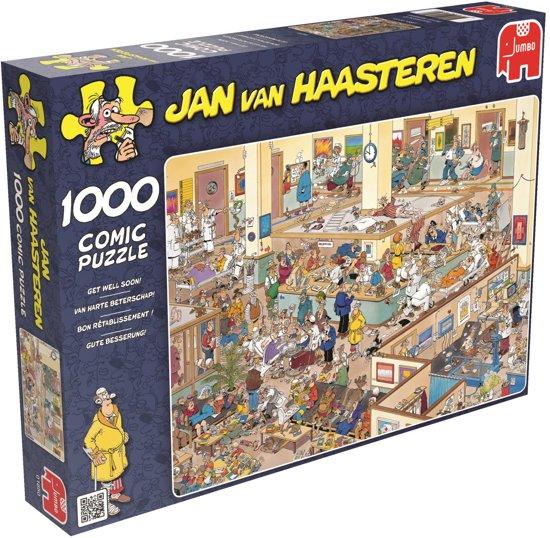 Jan van Haasteren Van Harte Beterschap! - Puzzel 1000 stukjes