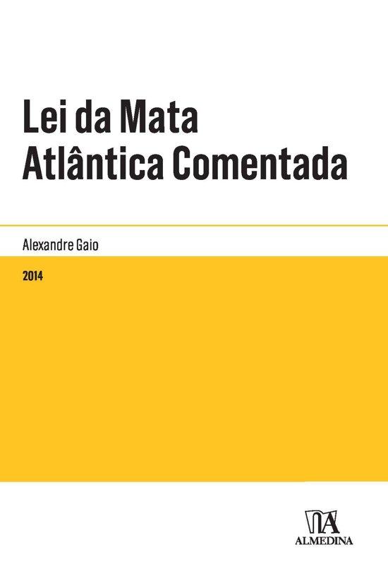 Lei da Mata Atlântica Comentada