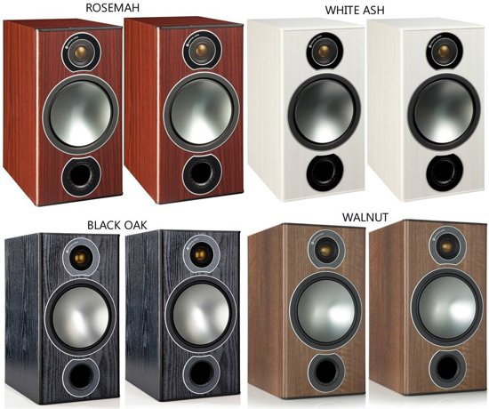 Monitor Audio Bronze 2 - Boekenplank Speaker - Wit