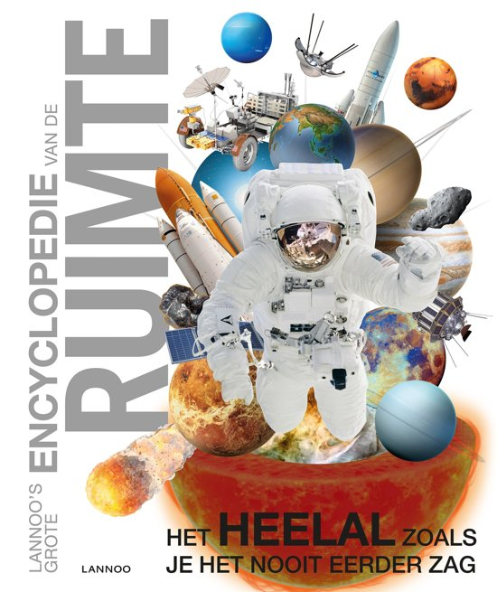 Boek cover Lannoos Grote Encyclopedie - Lannoos grote encyclopedie van de ruimte van  (Hardcover)