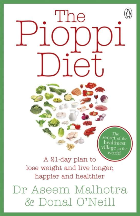 Boek cover Pioppi Diet van Aseem Malhotra (Paperback)