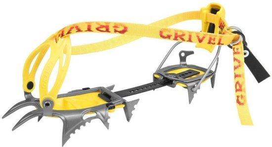 Grivel Air Tech stijgijzers cramp-o-matic geel/grijs