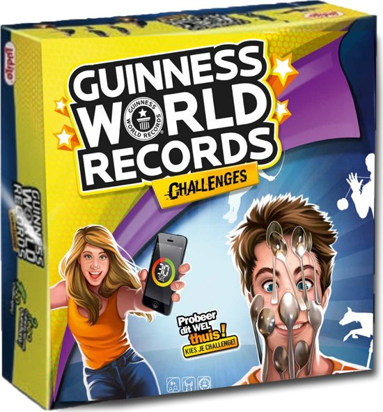 Guinness World Records Challenge Spel