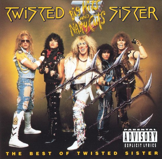 Big Hits And Nasty Cuts-Best Of Twisted Sister