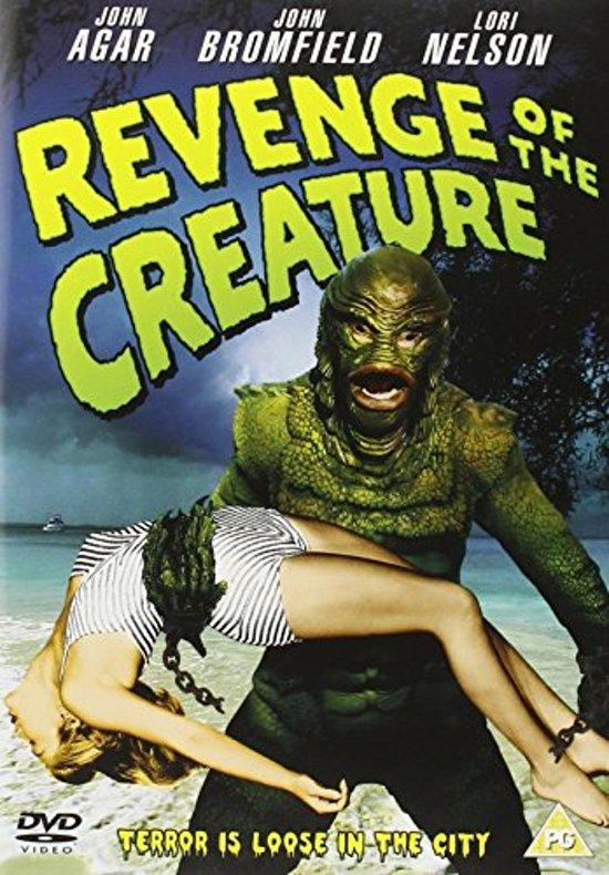 Cover van de film 'Revenge Of The Creature'