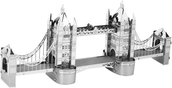 Metal Earth Modelbouw 3D London Tower Bridge - Metaal