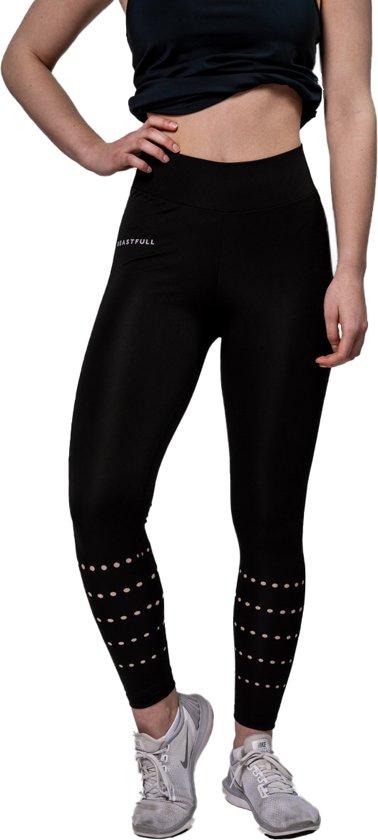 Beastfull® Fitness legging - High waist - Zwart - Dames - Maat L