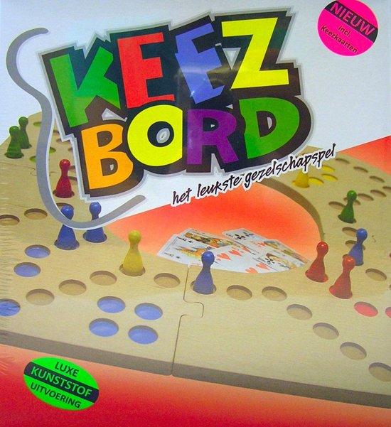 Keezbord 4-6 Personen Kunststof - Keezen bordspel