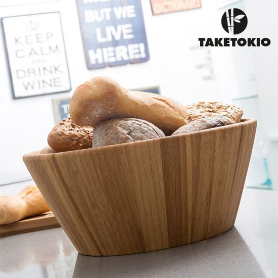 TakeTokio Bamboe Kom - Ø 30 cm